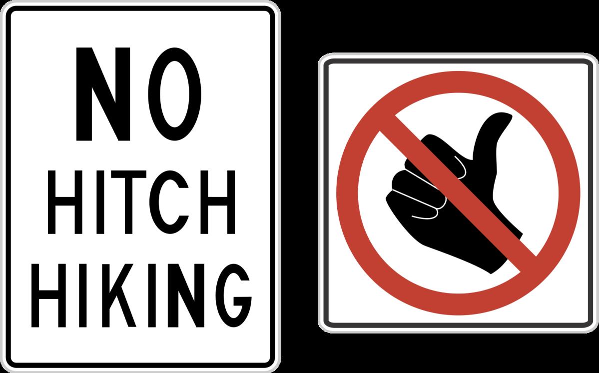 Hitchhiking é ilegal no Canadá?