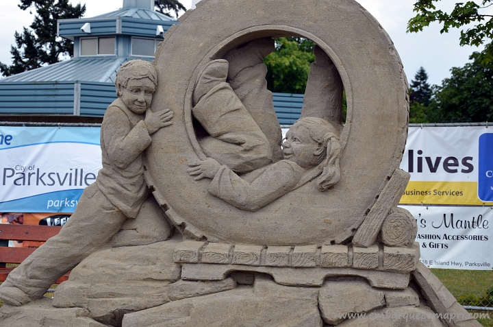 Sand Sculpting Competition Parksville